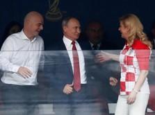 Piala Dunia Berjalan Sukses, Putin Bisa Berbangga Hati