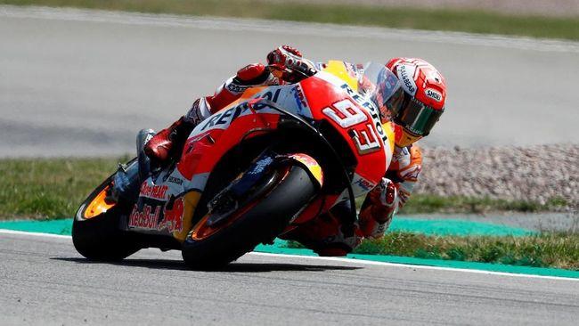 Marc Marquez Tercepat di FP2 MotoGP Austria, Rossi ke-10