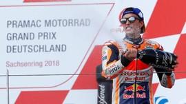 Marquez: Aksi Penyelamatan di MotoGP Bukan Keberuntungan