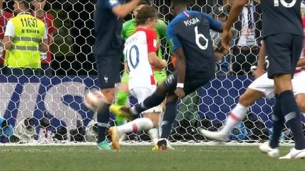 VIDEO: Gol Pogba Getarkan Gawang Kroasia