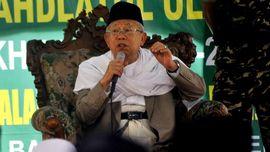 Ma'ruf Amin: Jokowi Menghargai Ulama, Harus Dibalas Dukungan