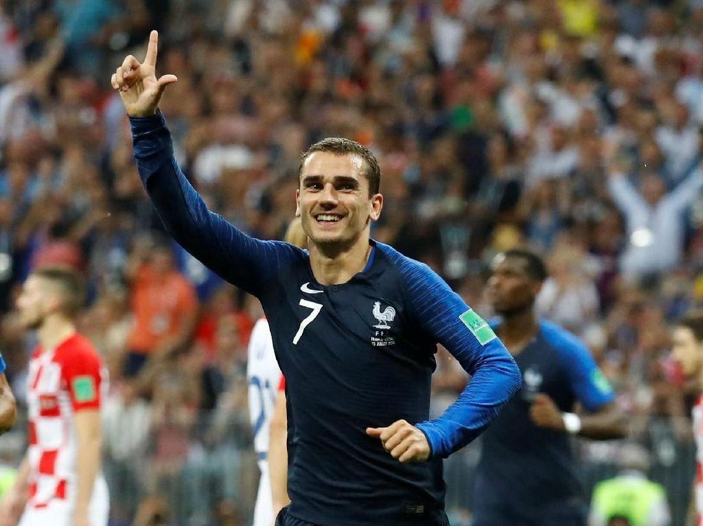 Foto: Tampannya Griezmann, Striker Prancis Unggulan Ballon dOr