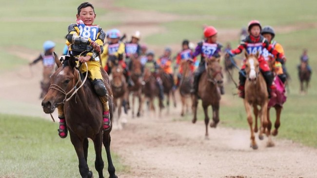 Kelompok pemerhati anak, Tsolmon of Save the Children, juga menyarankan agar kegiatan pacuan kuda tak digelar pada musim dingin atau musim semi, karena suhu dingin ekstrem membahayakan anak.