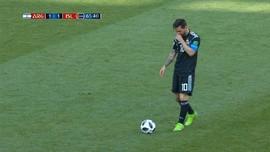 VIDEO: Momen Kegagalan Messi di Piala Dunia 2018