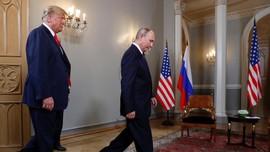 Puji Presiden Rusia, Trump Sebut Putin Sangat Kuat