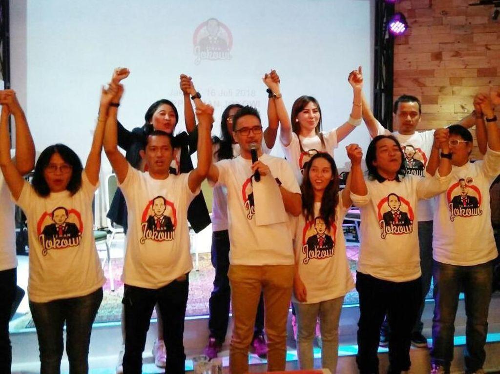 Wadah relawan ini untuk memfasilitasi aspirasi masyarakat yang memang selama ini dak terikat dalam partai politik tetapi memiliki kesadaran untuk terlibat aktif dalam proses politik. Foto: dok. Teman Jokowi