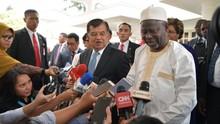 Bertemu Wapres Gambia, JK Bahas Persiapan KTT OKI