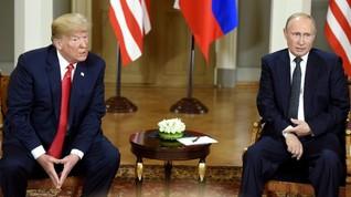 Mayoritas Warga AS Nilai Trump Salah Tangani Rusia