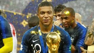 Koleksi Mobil Mbappe, Pemain Muda Terbaik Piala Dunia 2018
