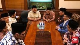 Prabowo Temui Said Aqil di Kantor PBNU
