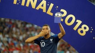 Pele Mulai Terancam Rekor Mbappe di Piala Dunia