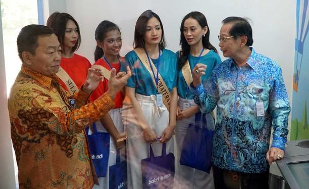 Miss Grand Indonesia 2018 Belajar Dunia Perbankan