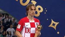 VIDEO: Bola Emas Piala Dunia 2018 Milik Luka Modric
