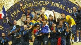 Dewi Fortuna Berkostum Prancis di Final Piala Dunia 2018