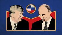 INFOGRAFIS: Perbandingan Kekuatan Militer Ekonomi AS-Rusia