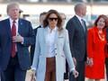 Melania Disebut Lebih Tenang Bila Tidak Ada Donald Trump