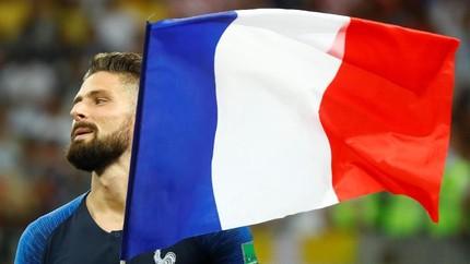 Giroud, Striker Juara Dunia Tak Butuh Tembakan ke Gawang