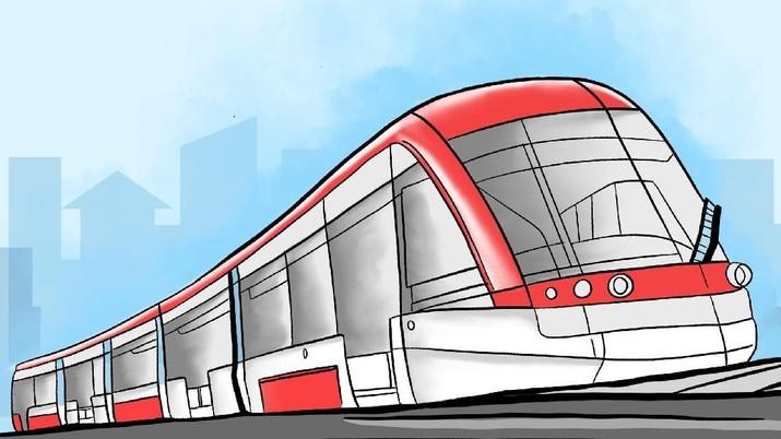 Menteri Perhubungan Budi Karya Sumadi mengemukakan tiga proyek LRT dibangun di Sumatra Utara, Bandung dan Surabaya dan sudah dilirik oleh pemodal asing.