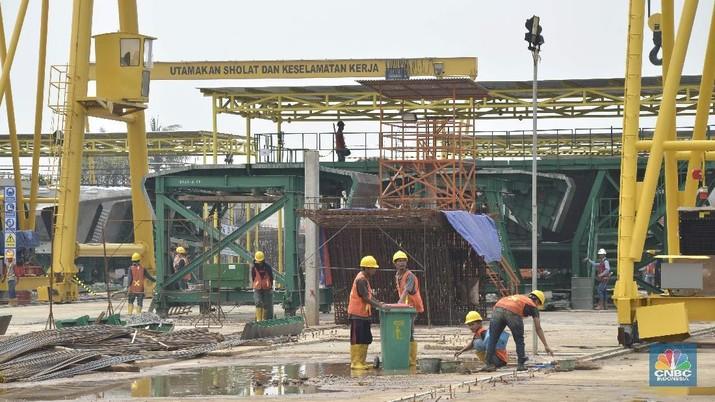 Pembangunan tahap I ini diharapkan akan rampung pada pertengahan 2019 mendatang sehingga pada semester II-2019 sudah dapat beroperasi.