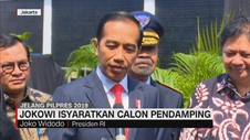 Presiden Jokowi Isyaratkan Calon Pendamping