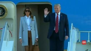 VIDEO: Trump Tiba di Helsinki, Siap Bertemu Putin