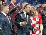 Diguyur Hujan, Akrabnya Presiden Kroasia, Prancis dan Russia