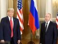 Trump dan Putin Beberkan Hasil Pertemuan di Helsinki