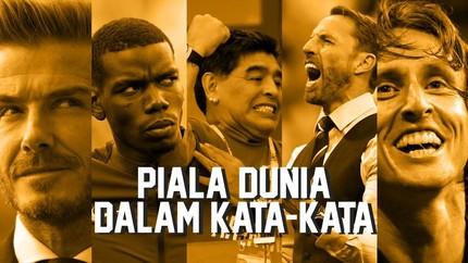 Piala Dunia dalam Kata-kata