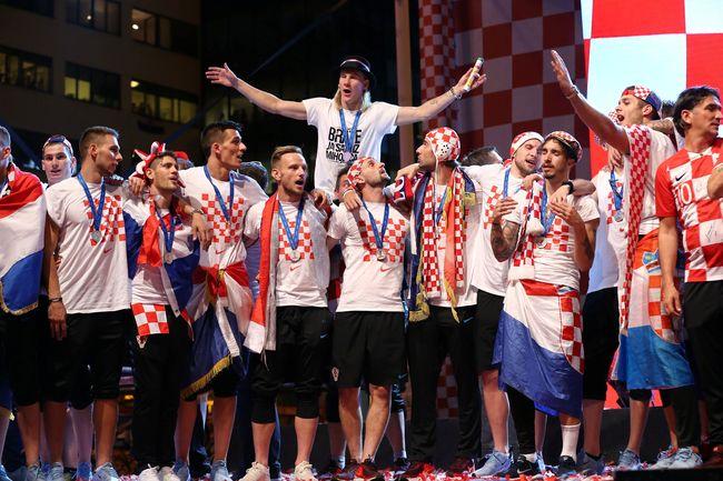 Image result for Timnas Kroasia Menyumbangkan Hadiah Piala Dunia 2018
