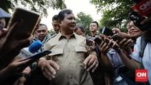 Ditanya Cawapres, Prabowo Seloroh Sama Ganteng dengan AHY