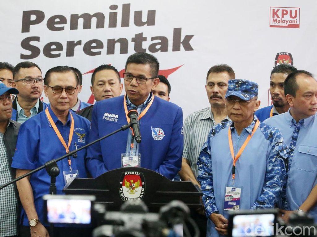 Salah satu bakal caleg yang didaftarkan adalah Edhie Baskoro Yudhoyono (Ibas) di Dapil Jatim VII.