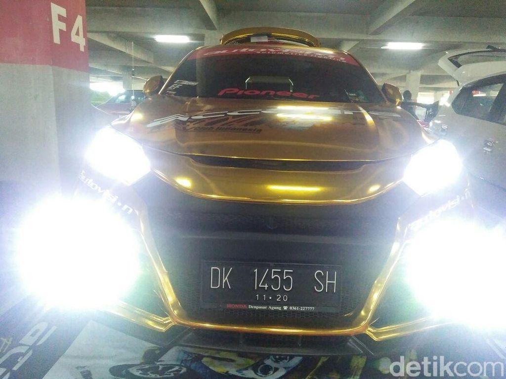 Honda HR-V Kelir Emas, Sederhana Tapi Mewah