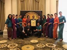 5 Tahun Berturut-turut, Kru Kabin Garuda Terbaik di Dunia!