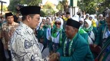 Pelepasan Jemaah Haji Kloter Pertama