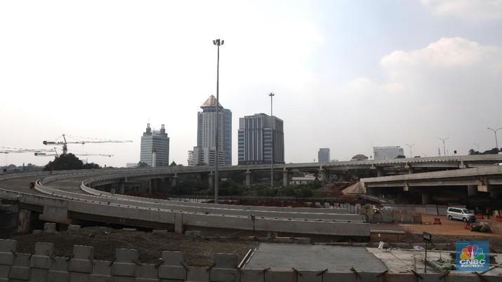 BCA Syariah menggelontorkan Rp 100 miliar sebagai pembiayaan sindikasi untuk proyek pembangunan jalan tol Jakarta-Cikampek II Elevated