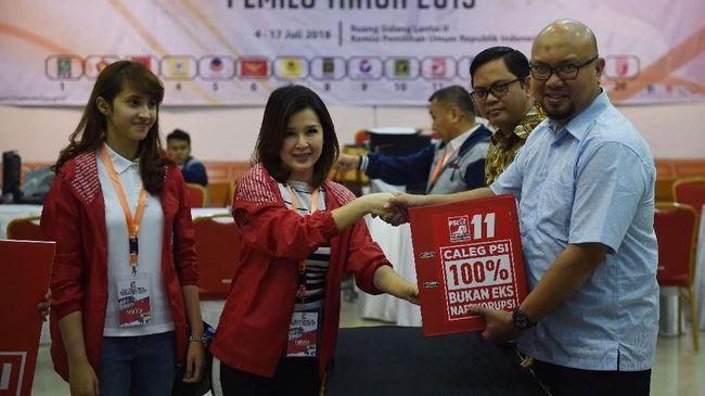PSI Daftarkan Eks Kader Partai Lain Jadi Caleg