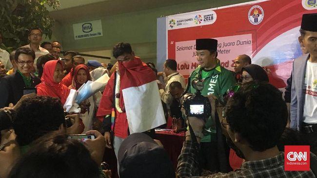 Lalu Muhammad Zohri Ditawari Jadi Anggota TNI