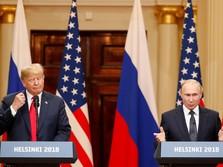 Dikecam di AS, Trump Mengaku Salah Bicara Saat Bertemu Putin