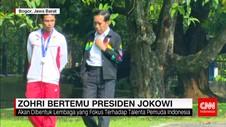 Jokowi: Lalu Muhammad Zohri Orang Besar