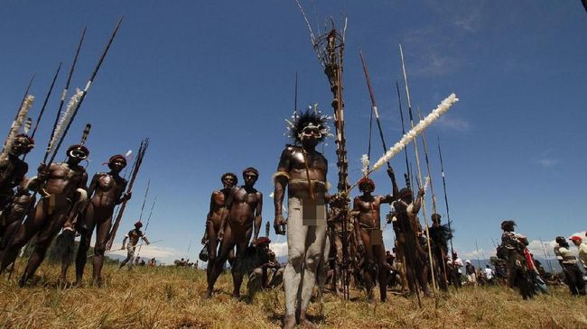 Atraksi Unik Festival Lembah Baliem di Jantung Papua