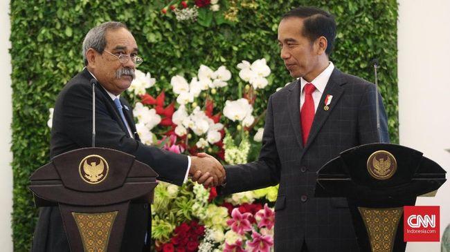 Jokowi Tawarkan Pesawat PT DI kepada Presiden Mikronesia