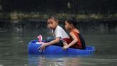 Peringatan hujan juga diterapkan di Rizal, Cavite, Pampanga dan Zambales, kata badan cuaca. (REUTERS/Erik De Castro)