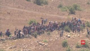 VIDEO: Israel Usir Puluhan Pengungsi Suriah