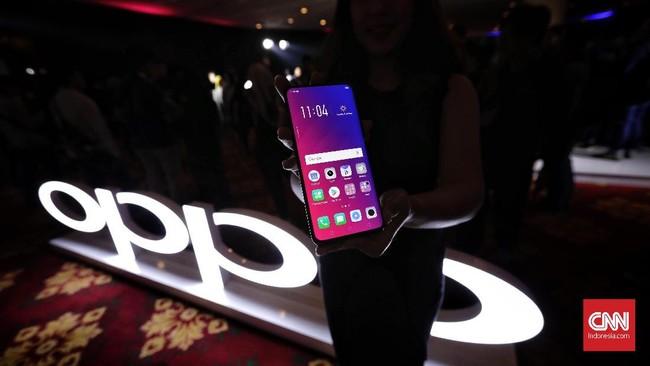 FOTO: Oppo Find X Dibekali Skema Kamera Tak Biasa