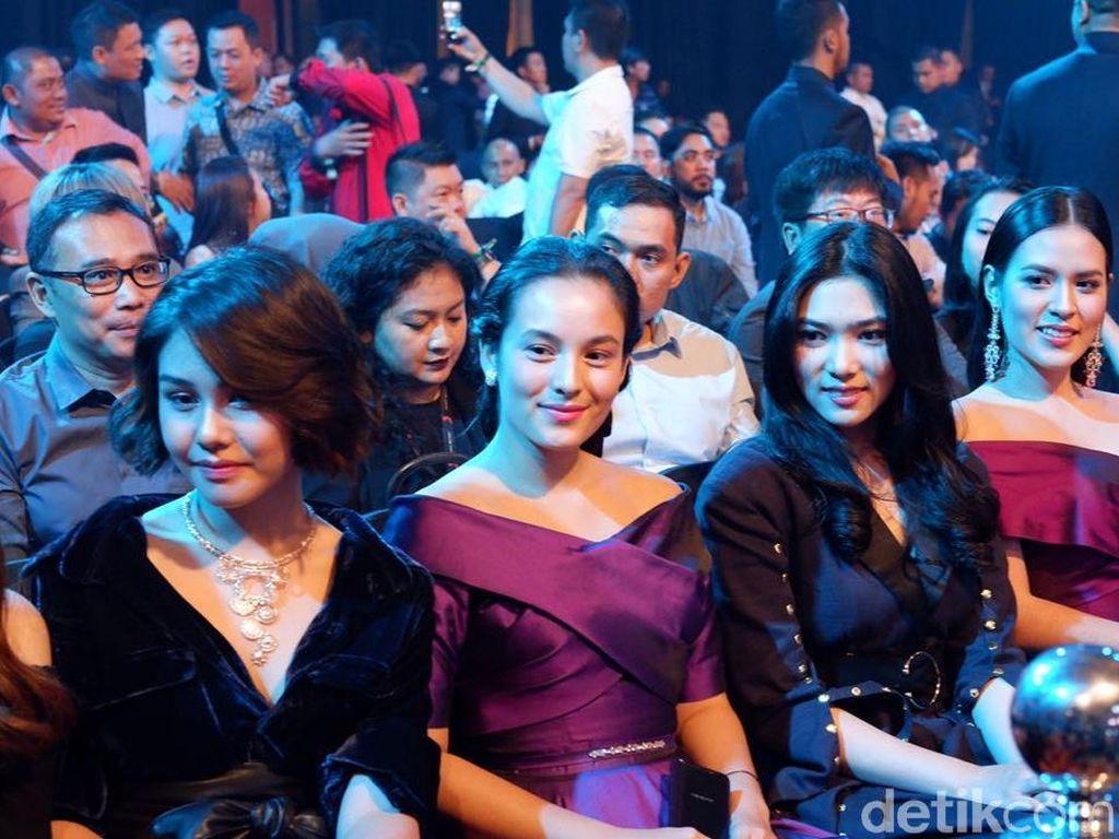 Meluncurkan flagship terbarunya yakni Oppo Find X di Jakarta, Oppo memboyong semua artis brand ambasadornya. (Foto: detikINET/Adi Fida Rahman)
