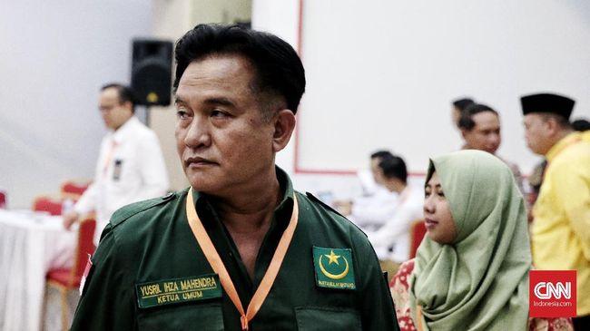 Yusril Beri Sinyal Dukungan untuk Jokowi-Ma'ruf Amin