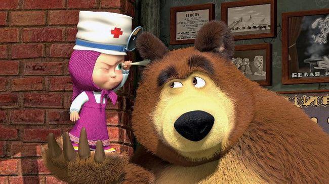 'Masha and The Bear' akan Beraksi di Atas Es di Indonesia