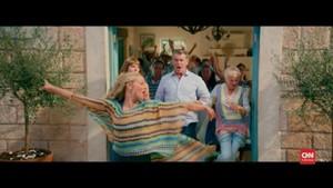 VIDEO: Reuni Pemain 'Mamma Mia!' di Film Kedua