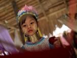 Eksotisme Perempuan Kayan dan Tradisi Gelang Leher