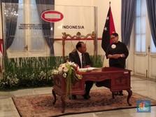 RI & Papua Nugini Jajaki Kerja Sama Bangun Daerah Perbatasan